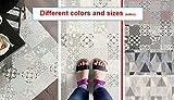 MadeInNature PVC-Teppich, verschiedene Größen erhältlich, Vinyl, ideal vor der Spüle, Abdeckung des Bodens, Provence Creme, 60x40cm