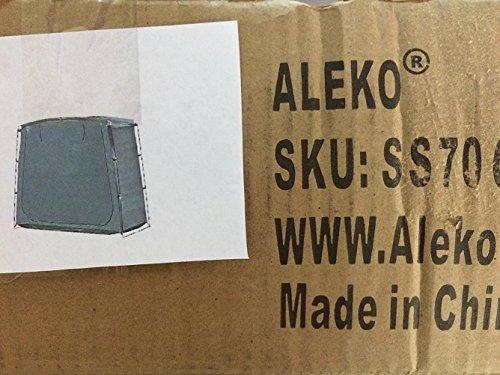 Aleko® ss70gr PE 162,6cm, hochkant, rechteckig, platzsparend Outdoor Bike Aufbewahrung Zelt, grün Farbe