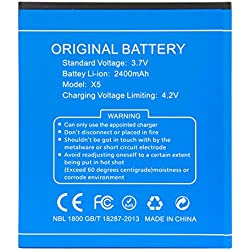 DOOGEE X5,X5PRO Li-ion batería Original Reemplazo de la batería del teléfono móvil,color azul