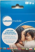 Lebara 3G International Pay As you Go Sim Card (Micro, Nano, Standard) - Interchangeable Tariff Calls Texts Internet Data for iPhone, iPad Tablet Galaxy Mobile Phones by Fone-Stuff