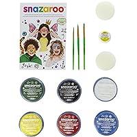 Snazaroo Face and Body Paint Mini Starter Kit, 14 Pieces