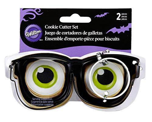 Wilton Brillen Metall Cookie Cutter, Set 2