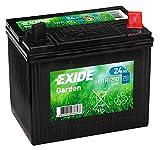 Exide U1R-250 Rasenmäherbatterie, 12V, 24 A, 4900