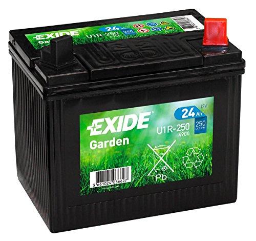 Exide u1r-250, tagliaerba a batteria 12V 24Ah 4900
