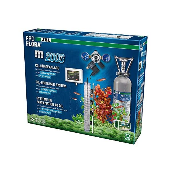 JBL ProFlora M2003 – Plant Co2 System With 2kg Cylinder and pH Control Device – New Product @ Bargain Price!!!