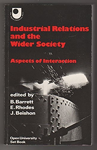 Industrial Relations And The Wider Society