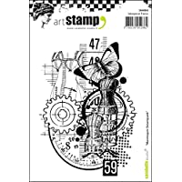 "Carabelle Studio""3 Mini Friezes"" Cling Stamp, White/Transparent, A7_P"