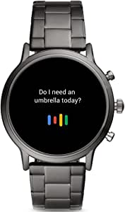 Fossil Gen.5 Montre Intelligente à écran Tactile numérique pour Homme avec Bracelet en Acier Inoxydable FTW4024 (Remise à Neuf)