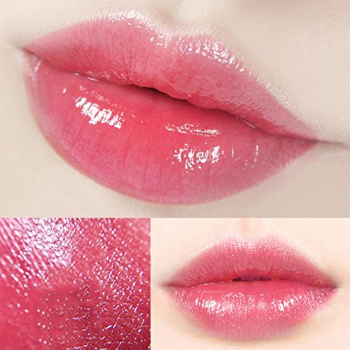 colinsa Aloe Vera Rossetti cambia colore crema idratante rossetto Lip Gloss, Rossetto Impermeabile per labbra lipliner impermeabile Lip Liner Stick matita Rossetto Lucidalabbra