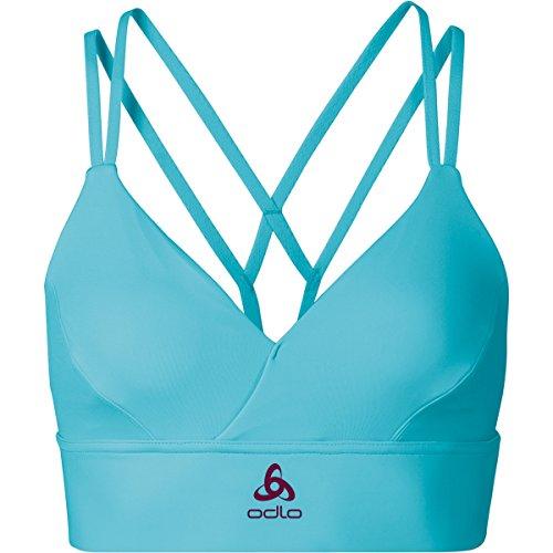 Odlo Damen Sports Bra Feminine Soft Bh blue radiance