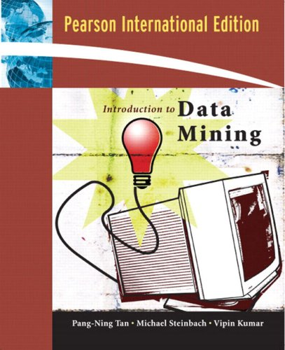Introduction to Data Mining:International Edition
