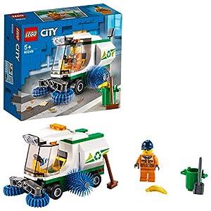 LEGO CityGreatVehicles CamioncinoPuliziaStrade dalla Spazzatura con Autista, Set Macchinina per Bambini dai 5 Anni in su, 60249 5702016617832 LEGO