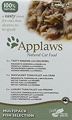 Applaws Cat Pot Juicy Chicken Breast with Duck 10 x 60 g