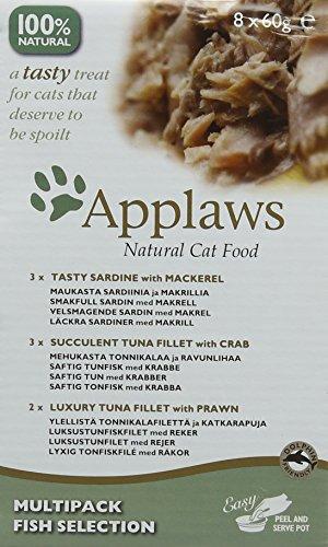 Applaws-Cat-Pot-Juicy-Chicken-Breast-with-Duck-10-x-60-g