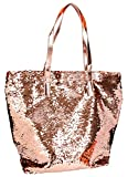 Depesche 6379 - Handtasche Top Model mit Pailletten, Gold