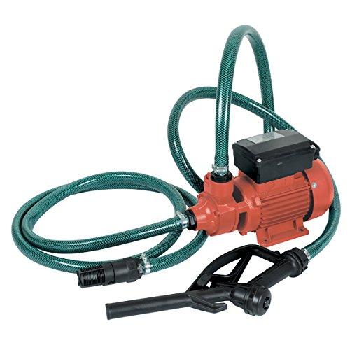 Kit pompa travaso gasolio completa + valvola di fondo in ottone e tubo gasolio - 6 Kit Completo Del Corpo