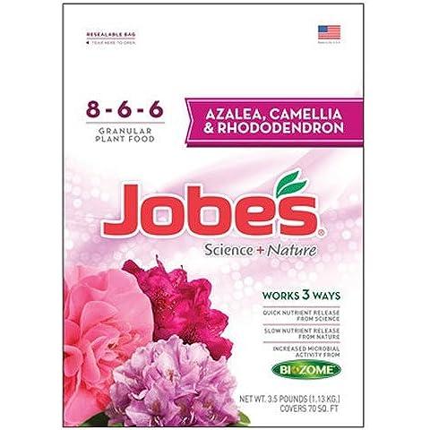 EASY GARDENER INC - Synthetic Azalea, Camellia & Rhododendron Fertilizer, 8-6-6, 3.5-Lbs.