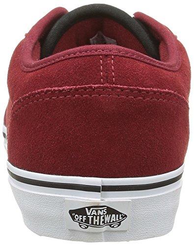 Vans Atwood, Scarpe da Ginnastica Uomo Rosso (Varsity Red/Black)