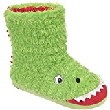 Trespass Dino, Boys'  Hi-Top Slippers
