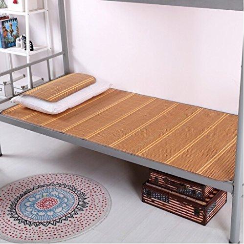 Singolo tavolo da letto in bambù da tavolo Materasso matrimoniale da letto dormitorio da tavolo Letto singolo in lenzuola per bambini Lenzuola 90 * 190cm