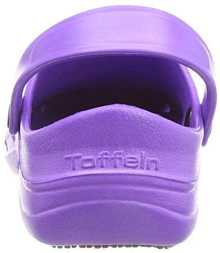 Toffeln  Eziklog, Chaussures de sécurité mixte adulte, Rose (Hot Pink), 42 Violet (Purple)