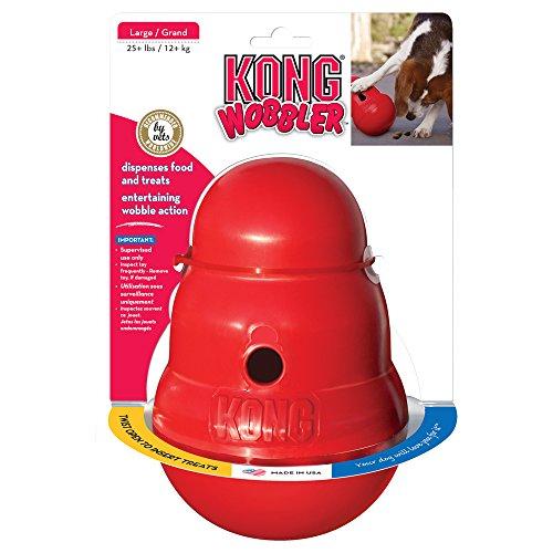Kong 47522 Hundespielzeug Wobbler, befüllbar mit Snacks - 3