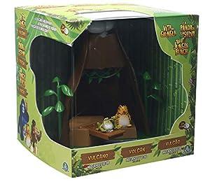 La Panda de la selva-JUN03000 Disney Playset Volcano, Multicolor, Unico (Giochi Preziosi Spagna JUN03000)