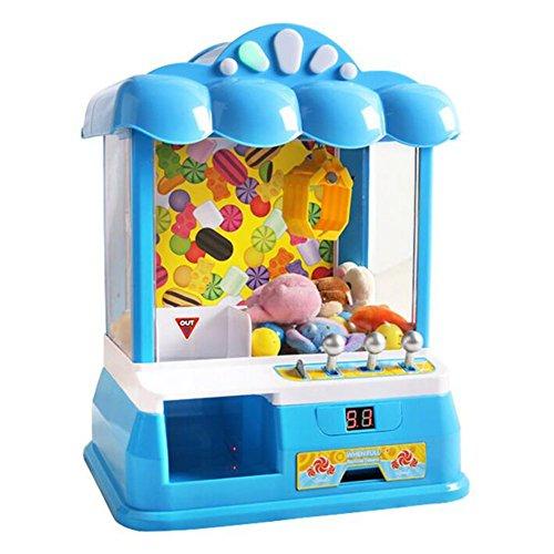 Grabber Machine Crane Claw Arcade USB Kunststoff Fairground Replica Elektronische Kreative Verrückte Musik Spiel Kinder Weihnachtsgeschenk CFZHANG , blue