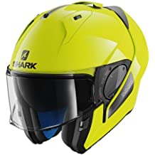 Shark Evo-One 2 - Casco de moto, alta visibilidad, color amarillo