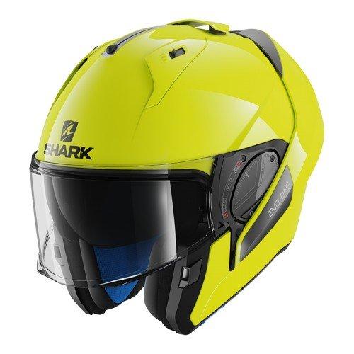 Shark Evo-One 2 – Casco de moto, alta visibilidad, color amarillo