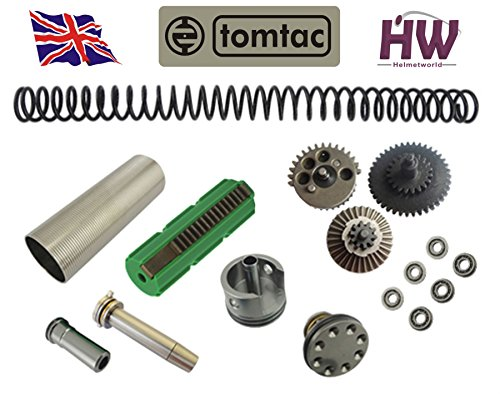 Airsoft AEG V2 Gearbox Full Tune UP Upgrade KIT Set for M4 M16 CNC Metal HIGH (Airsoft M4 Teile)
