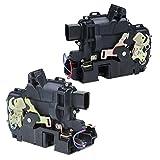 ECD Germany TS-013 + TS-014 2 x Meccanismo serratura centralizzata portiera anteriore sinistra + destra per auto