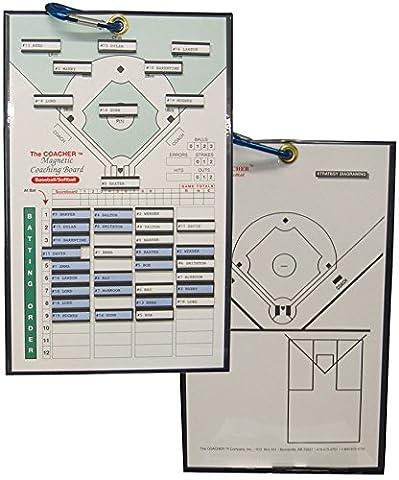 Coaches Magnetic Baseball/Softball Coaching Board