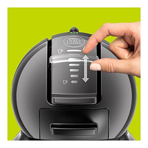 Nescafé Dolce Gusto Mini Me KP1208 con 48 Capsule in Omaggio Macchina per Caffè Espresso e Altre Bevande Automatica Antracite di Krups