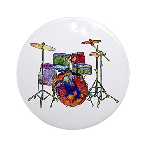 CafePress–Wild Schmuck Drums (rund)–Rund Urlaub Weihnachten Ornament