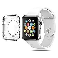 DeetŽ 42MM Apple Watch Slim Fit Gel Case With Premium Clear Finish