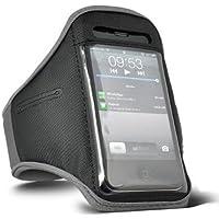 Digi Pig grigio Sports Fascia da braccio Custodia per Apple