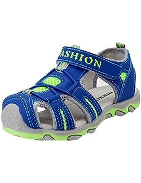 Malloom 3-11 Años Niño Zapatos Niña Niño Cerrado Toe Verano Playa Sandalias Zapatos Zapatillas