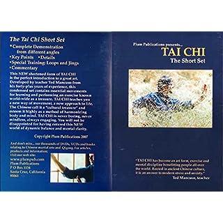 Chinese Yang Tai Chi Short Set DVD Ted Mancuso exercise energies martial arts
