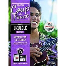 Roux Denis Debutant Ukulele Uke Book/Cd French