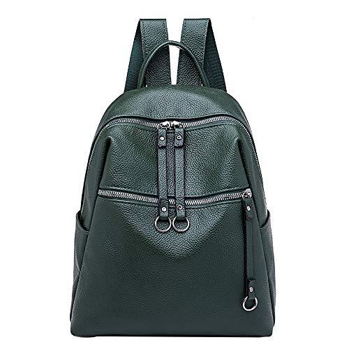 Rucksack Damen Handtasches Schulrucksack Taschen BestShope Hochwertige PU Leder Rucksäcke Geldbörse Handtasche Kleine Beuteltasche Einfarbig Speicher Reißverschluss Tasche für Mode Mädchen Fraue Damen -