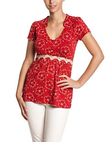 Vive Maria - Summer Garden Shirt, T-shirt da donna, rosso (rot  (rot)), L