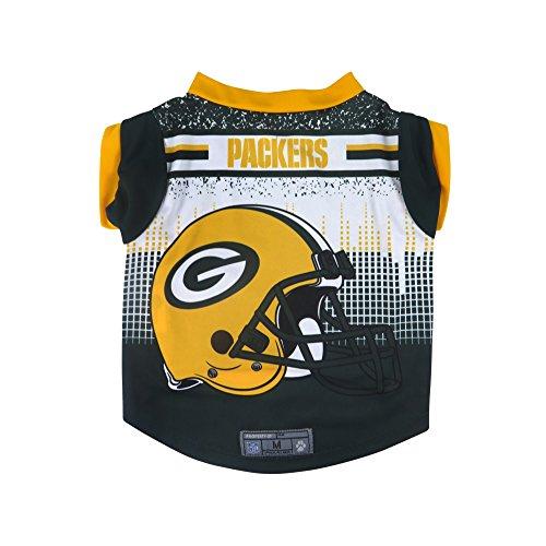 NFL Green Bay Packers Pet Performance T-Shirt, Medium -