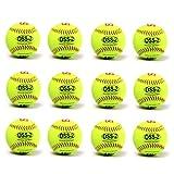 barnett OSS-2 palla da softball principanti t 12'', c giallo 12pz