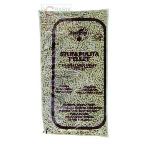 Distruttore di fuliggine per stufe a pellet confezione da 2 kg