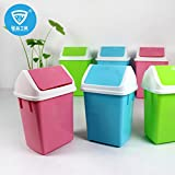 #5: DFS's High Grade PORTABLE PLASTIC MINI DUSTBIN with Lid (Assorted Colors)