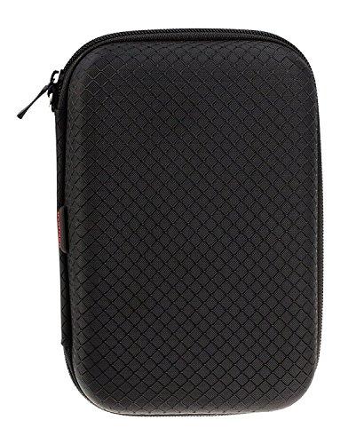 Navitech couverture noir / cas / cas de voyage pour Poweradd Pilot 2GS 10,000mAh Dual-Port Portable Charger External Battery Power Bank