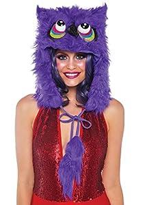 Leg Avenue- Mujer, Color morado, Talla Única (EUR 36-40) (A268222053)
