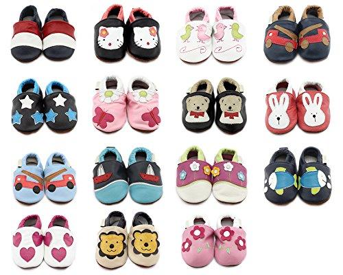 BONAMART ® Baby Junge Mädchen Schuhe Krabbelschuhe Kleinkinder Karikatur Herz