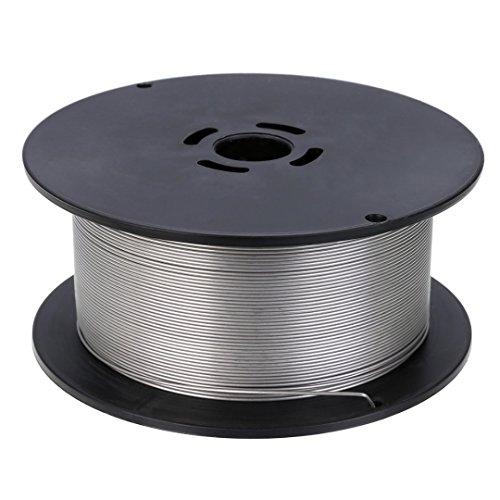 1kg alambre de soldadura Acero Inoxidable 0,8mm sudor alambre relleno alambre sudor...